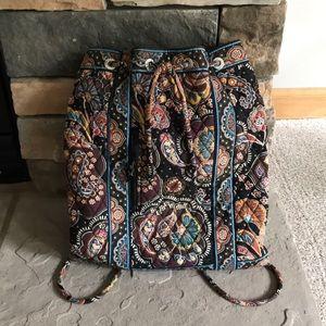 Vera Bradley Drawstring Backpack.